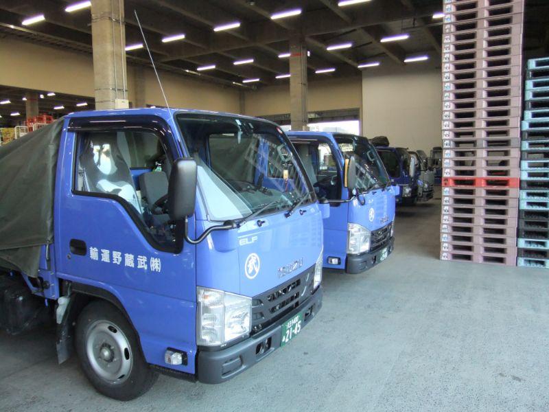 株式会社武蔵野運輸《2tドライバー》