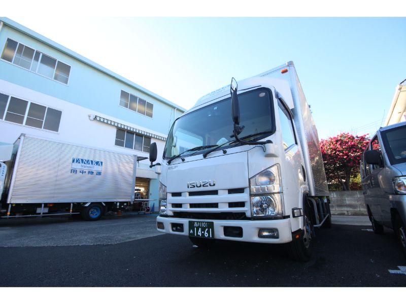 田中陸運株式会社《輸送ドライバー:軽貨物》